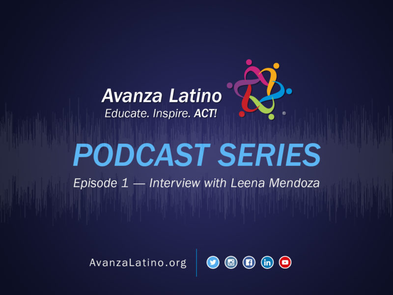 Podcast Series – Episode 1 – Interview with Leena Mendoza